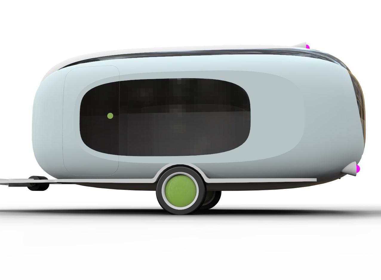 Design Idee Wohnwagen Trailer