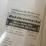 Fahrzeugpapierersatz