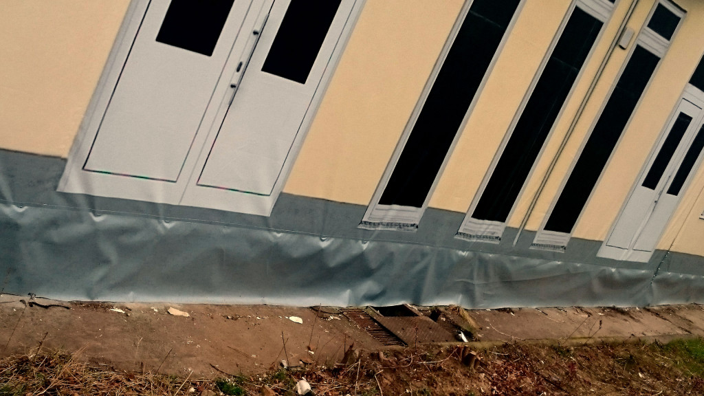 Attrappe - Fassade